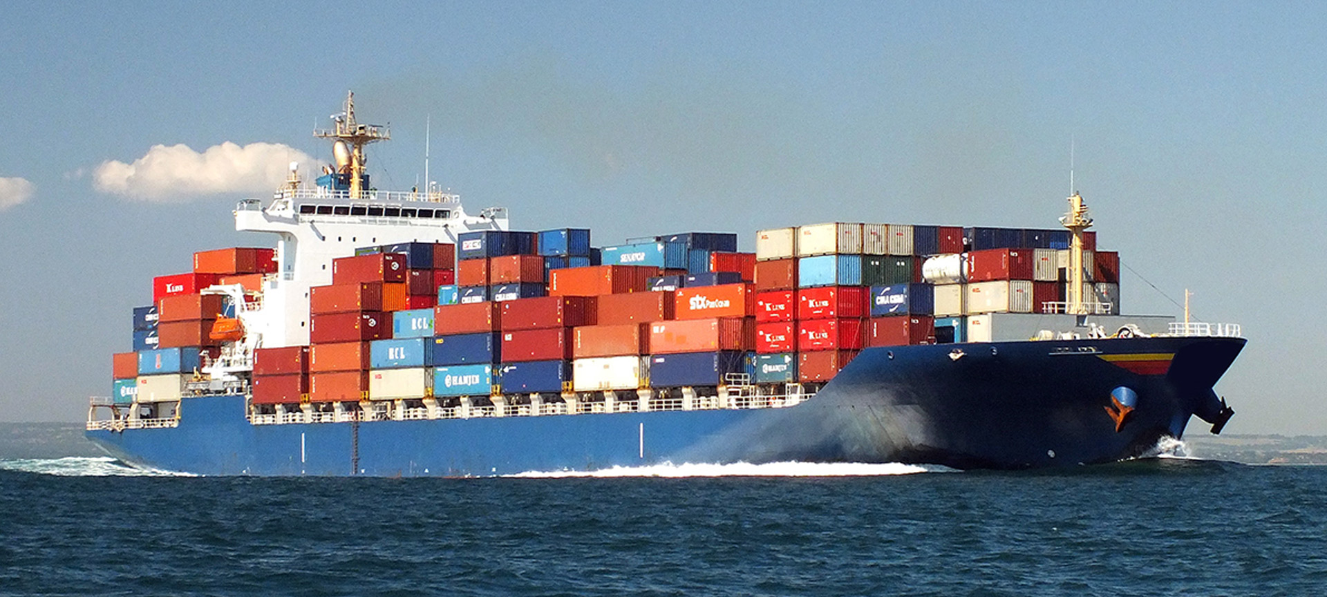 Worldwide marine transportation